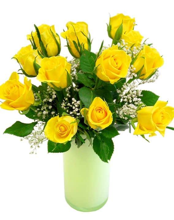 Kimp kollastest roosidest
