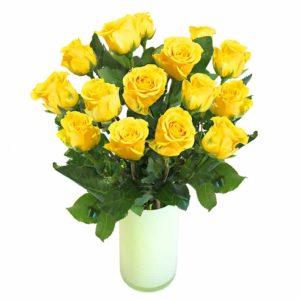 Kollane roos 50cm