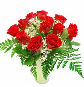 Kimp roosidest kipslillega