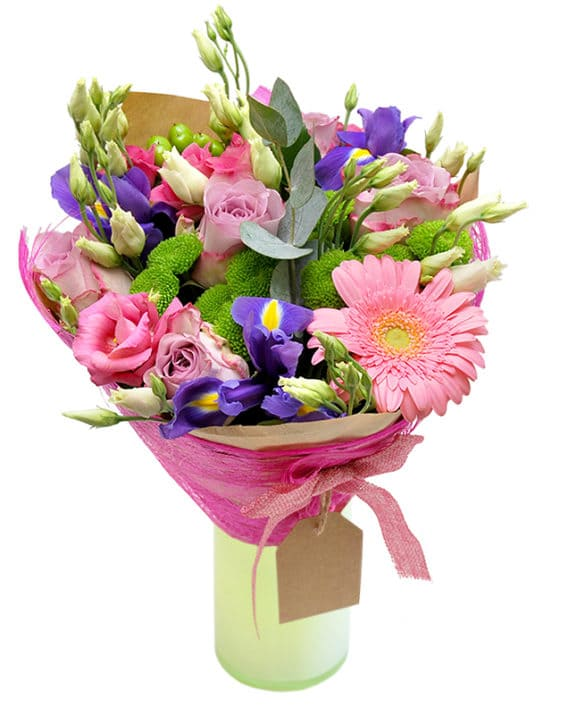 naiselik kimp emadepäev rikets lilled