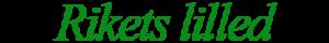 Rikets lilled logo