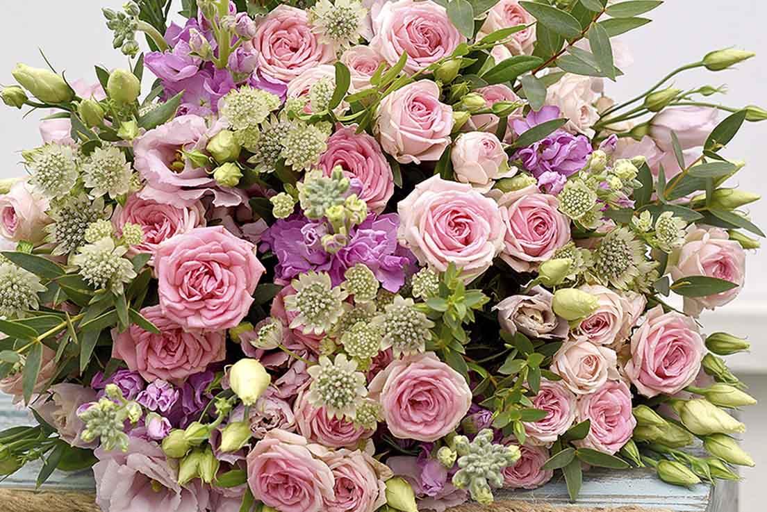 populaarsed lilled naistepäevaks