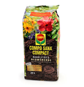Lillemuld Compact rõdu- ja toataimedele Compo 25L