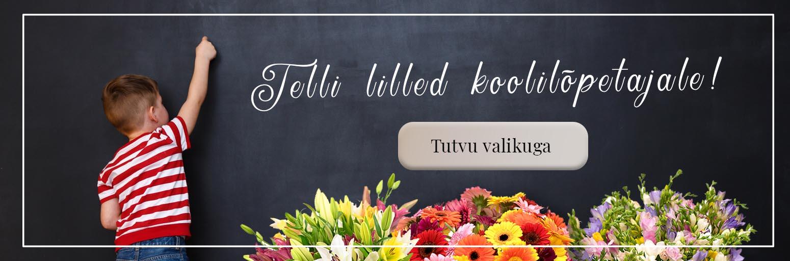 lilled kooli lõpu puhul